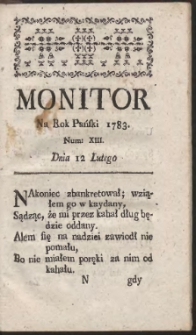 Monitor. R.1783 Nr 13