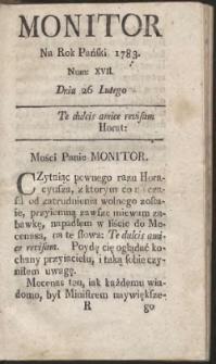 Monitor. R.1783 Nr 17
