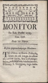 Monitor. R.1783 Nr 24