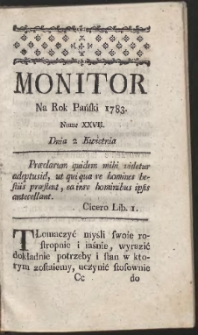 Monitor. R.1783 Nr 27