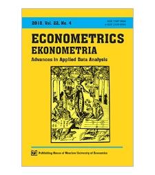 Spis treści [Econometrics = Ekonometria, 2018, Vol. 22, No.4]