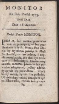 Monitor. R.1783 Nr 31