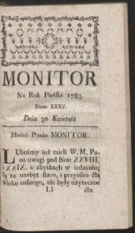 Monitor. R.1783 Nr 35