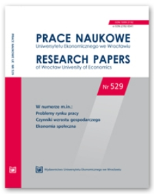 Model grawitacyjny w handlu zagranicznym: wybrane aspekty teoretyczne i metodyczne