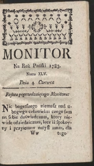 Monitor. R.1783 Nr 45