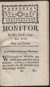 Monitor. R.1783 Nr 48