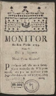 Monitor. R.1784 Nr 1