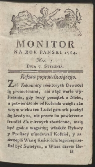 Monitor. R.1784 Nr 2