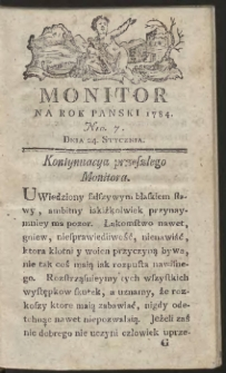 Monitor. R.1784 Nr 7