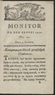Monitor. R.1784 Nr 10