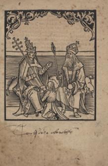 [Sendbrief an den Papst und die Kaiserliche Maiestät. Inc.:] Was den loblichen Churfursten un[d] Fursten […]