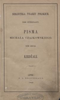 Kirdżali : powieść naddunajska. Wyd. 2, przejrz. i popr.