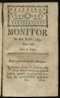 Monitor. R.1783 Nr 53