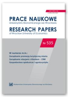 Działalność marketingowa gospodarstw ekoagroturystycznych w Polsce