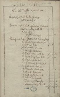 [Księga poboru podatkowego miasta Krakowa z roku 1718]