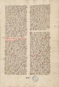 Vitae antiquorum philospohorum scriptae per Mathaeum Theophilum Carasz Leopoli anno 1473 oraz Concordantiae Evangelistarum secundum verum processum