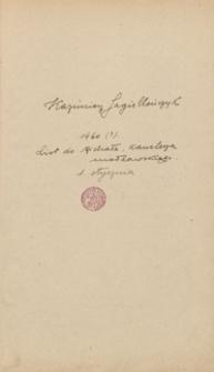 [Autografy królów polskich oraz monarchów obcych z lat 1460-1838]