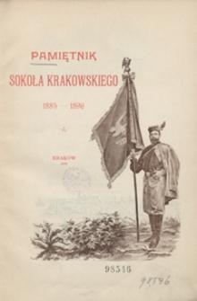 Pamiętnik Sokoła krakowskiego: 1885-1896