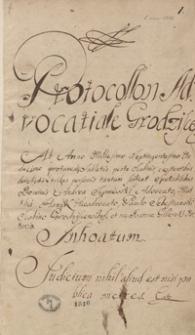 [Akta wójtowskie i radzieckie miasta Grodziska 1711-1713]