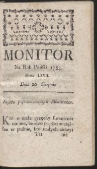 Monitor. R.1783 Nr 67