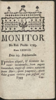 Monitor. R.1783 Nr 88