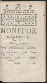Monitor. R.1783 Nr 92a