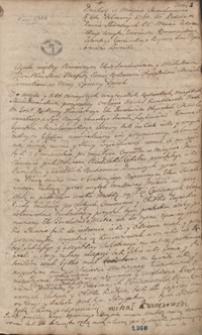 [Protokół [miasta Stanisławowa] czyli Akta różnych transakcyi [z lat 1760-1765]