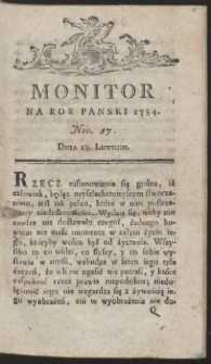 Monitor. R.1784 Nr 17