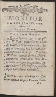Monitor. R.1784 Nr 26