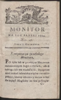 Monitor. R.1784 Nr 28