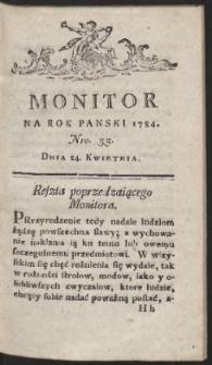 Monitor. R.1784 Nr 33