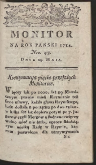 Monitor. R.1784 Nr 43