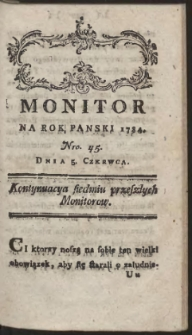 Monitor. R.1784 Nr 45
