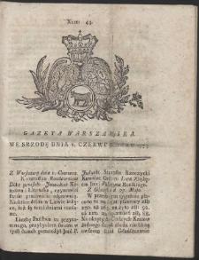 Gazeta Warszawska. R.1774 Nr 44