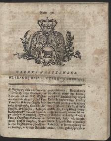 Gazeta Warszawska. R.1774 Nr 50