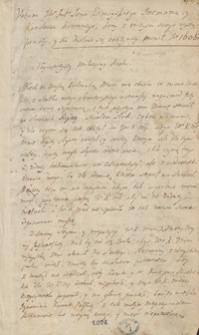 [Miscellanea z lat 1584-1784, zawierające odpisy listów, mów, akt publicznych i innych materiałów odnoszących się przeważnie do spraw politycznych Polski okresu panowania Stanisława Augusta Poniatowskiego]