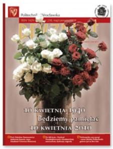 Pryzmat : Pismo Informacyjne Politechniki Wrocławskiej. Maj/czerwiec 2010, nr 238