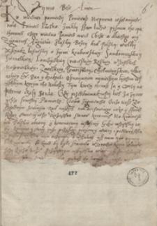 Uniwersał króla Zygmunta Augusta [z 1550 r. oraz] Iuramentum episcoporum, quod episcopi regni Poloniae praestabant papae