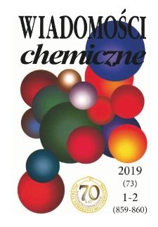 Wiadomości Chemiczne, Vol. 73, 2019, nr 1-2 (859-860)