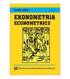 Spis treści [Ekonometria = Econometrics, 2014, Nr 4 (46)]