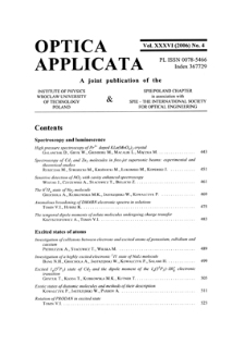 Studies of aerosol physical properties in the coastal area