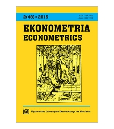 Spis treści [Ekonometria = Econometrics, 2015, Nr 2 (48)]