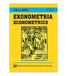 Spis treści [Ekonometria = Econometrics, 2016, Nr 1 (51)]