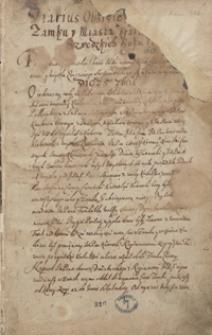 Dyaryusz obsydyey y [zdobycia] zamku y miasta Krakowa [od wojsk] szwedzkich r. 16[55]
