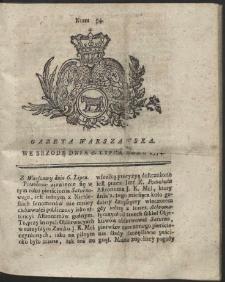 Gazeta Warszawska. R.1774 Nr 54