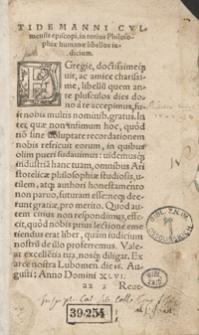 Totius Philosophiae Humanae in tres partes, nempe in Rationalem, Naturalem, et Moralem, digestio [...]