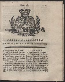 Gazeta Warszawska. R.1774 Nr 76