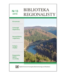 Spis treści [Biblioteka Regionalisty, 2013, Nr 13]