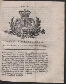 Gazeta Warszawska. R.1774 Nr 82