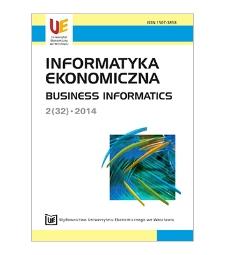 Spis treści [Informatyka Ekonomiczna = Business Informatics, 2014, Nr 2 (32)]